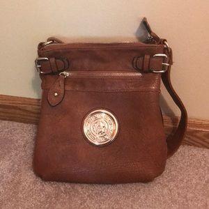 Handbags - Leather cross-body purse